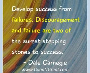 Dale Carnegie Success Quotes