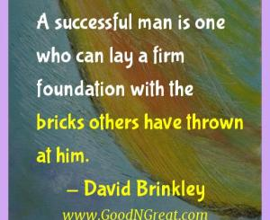 David Brinkley Success Quotes
