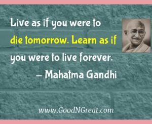 Mahatma Gandhi Success Quotes