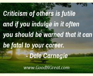 Dale Carnegie Workplace Quotes