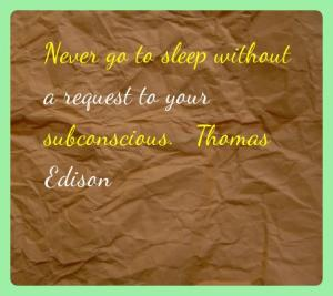 Thomas Edison quotes