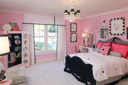 15 cool ideas for pink girls bedrooms 10