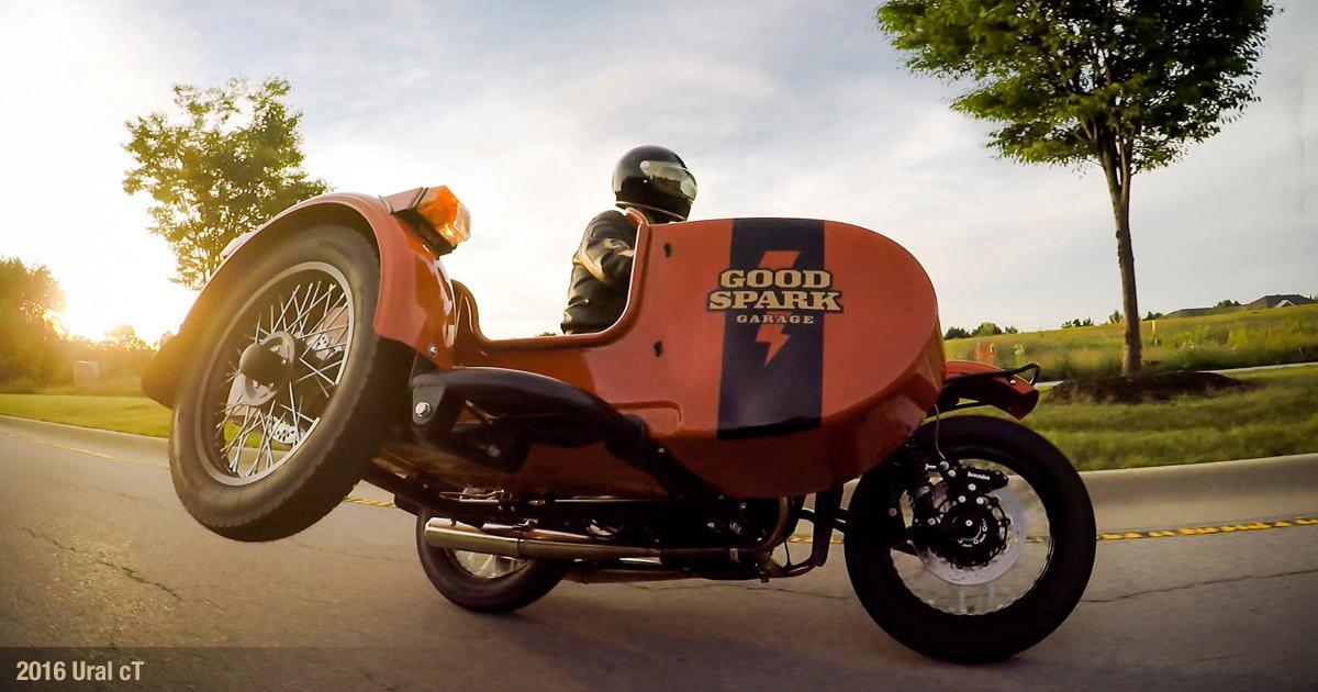 Good Spark Garage Ural Shop Bike