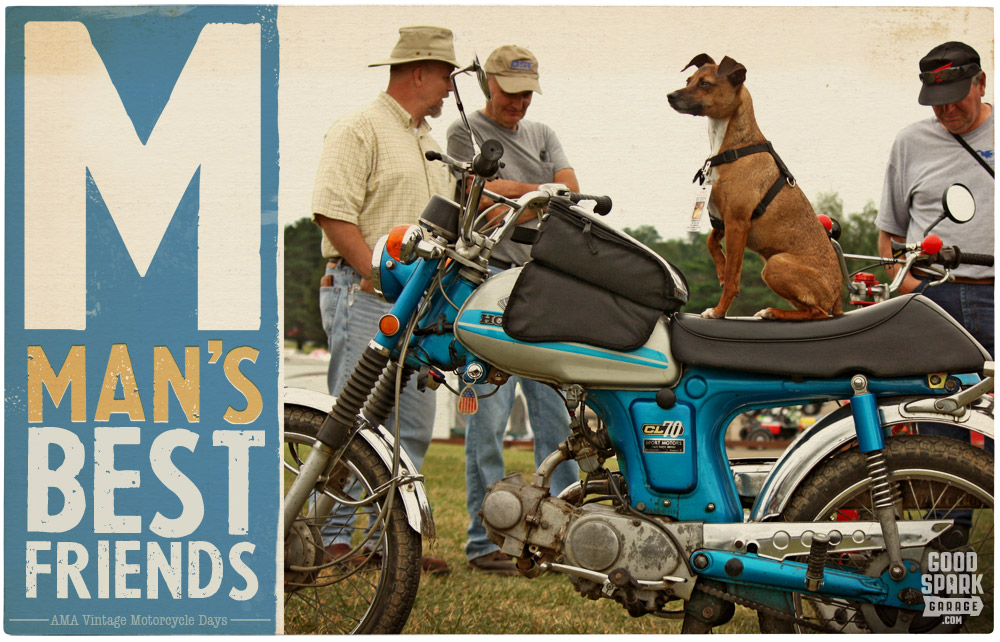 Trials Father and Son at AMA Vintage Motorcycle Days