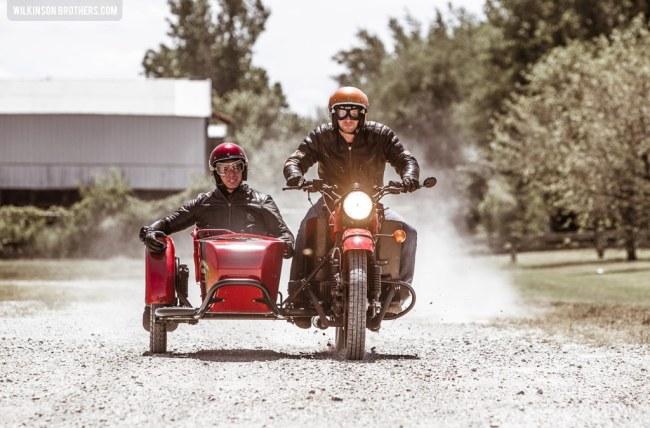 Wilkinson Brothers Ural Sidecar