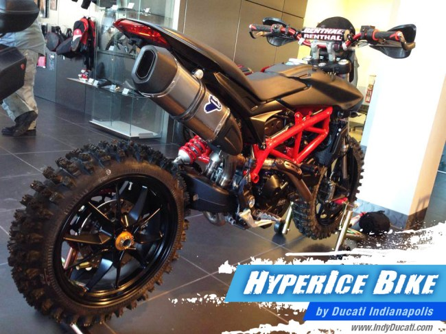 Hyper Ice Bike Ducati Indianapolis