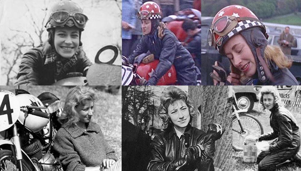 Beryl Swain Girl Racer