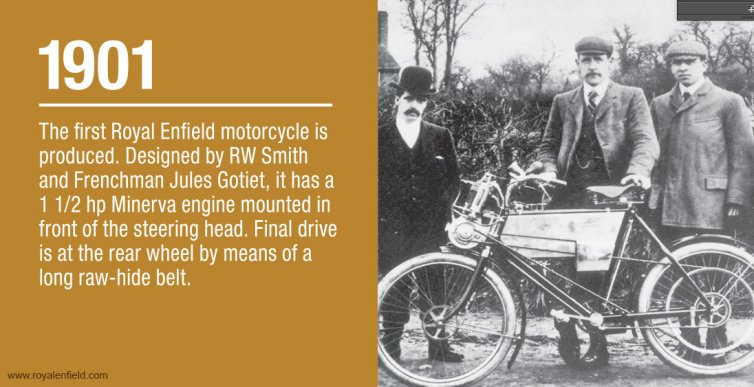 Royal Enfield History - 1901