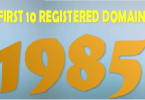 First 10 registred domain names