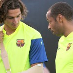 Ibrahimovic doubt could see Henry start on Tuesday