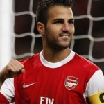 "Fabregas: ""I'm an Arsenal player & I'm very happy there"""