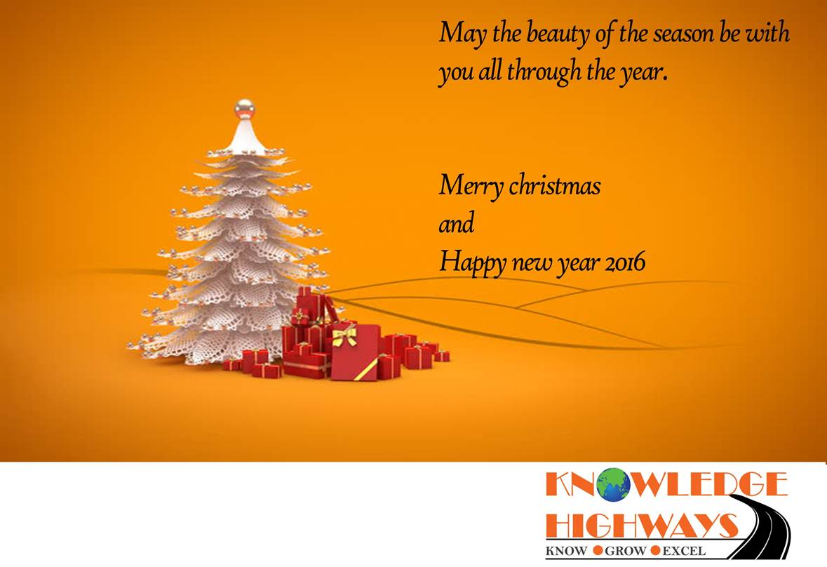 Seasons Greetings From Knowledge Highways Gopalan Parthasarathy