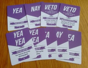 Game Election cards
