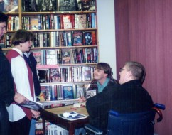 Little Bookshop of Horrors Signing