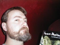 Arnzen, Book and Beard in 2004