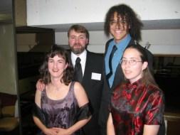 Arnzen with Renate Müller and RDSP in 2004