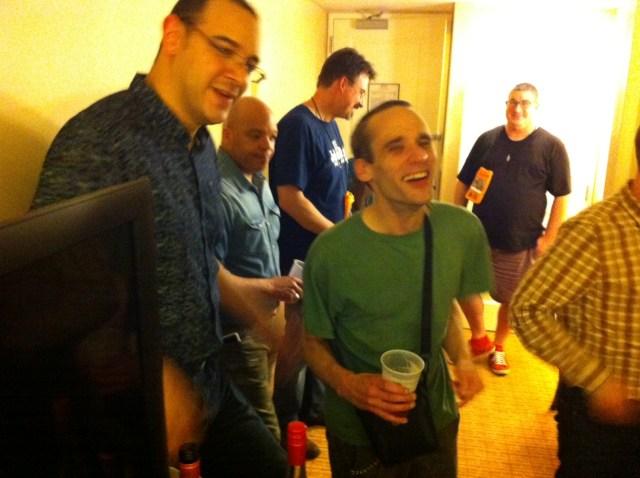 WHC15-Sat-John+Kevin-Laugh