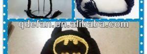 9 Divertidos gorros tejidos a crochet de batman