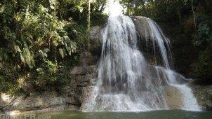 Gozalandia Lower Waterfall in San Sebastian PR 2