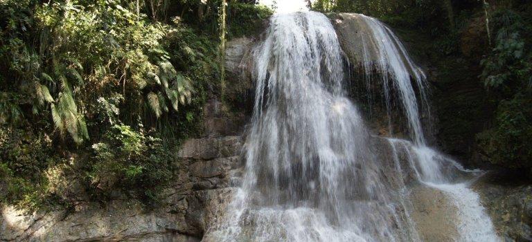 Gozalandia Double Waterfalls – San Sebastian