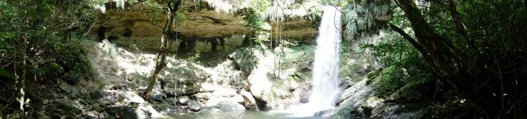 Gozalandia Waterfall Panoramic 1