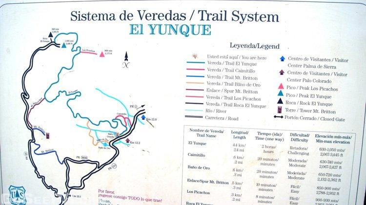 Bano de oro trail el yunque puerto rico go see pr for Bano de oro el yunque