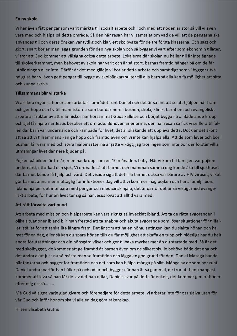 kontaktsbrev nr 1 - 2013- side 6