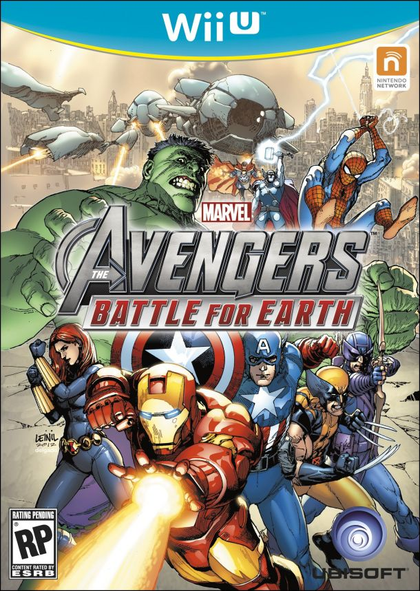 Marvel's The Avengers:  Battle for Earth – Wii U Box Art