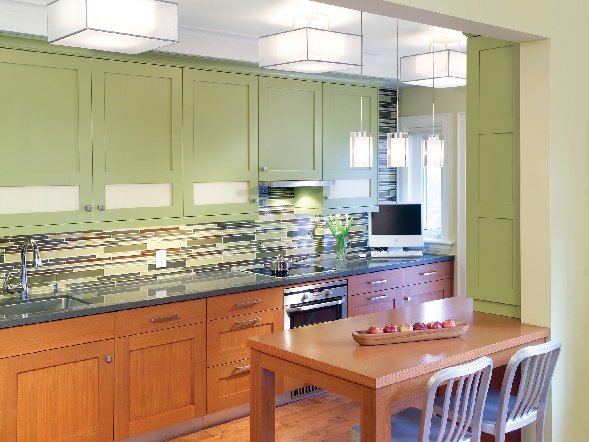 Fullsize Of Green Kitchen Cabinets