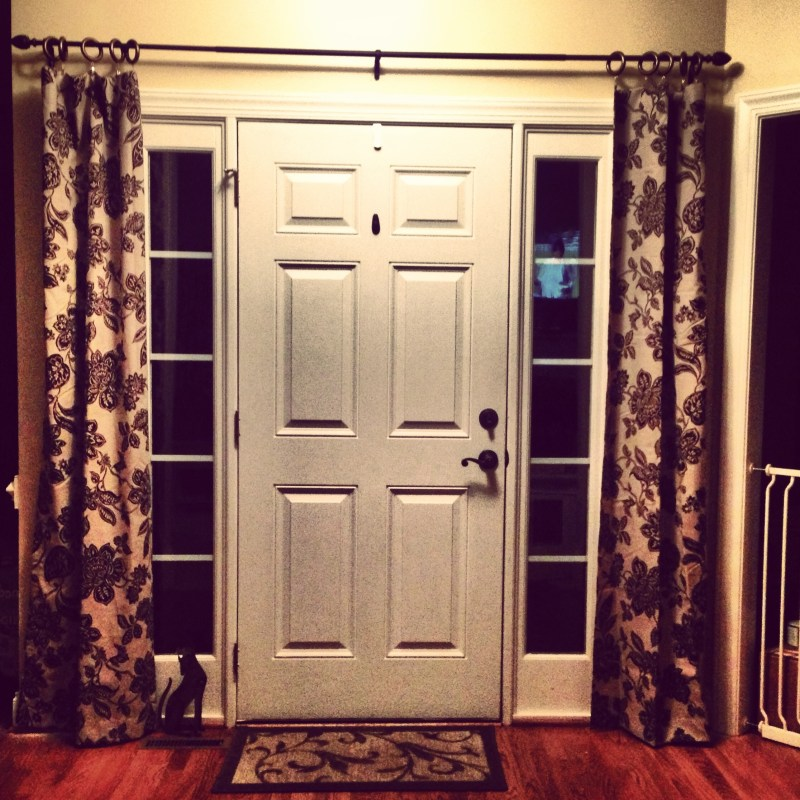 Large Of Front Door Curtains