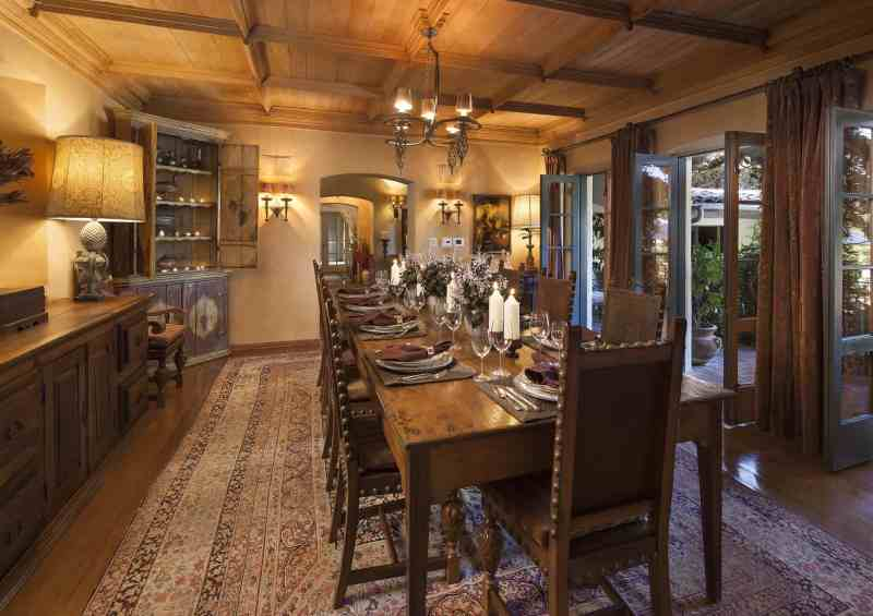 Large Of Rustic Dining Room