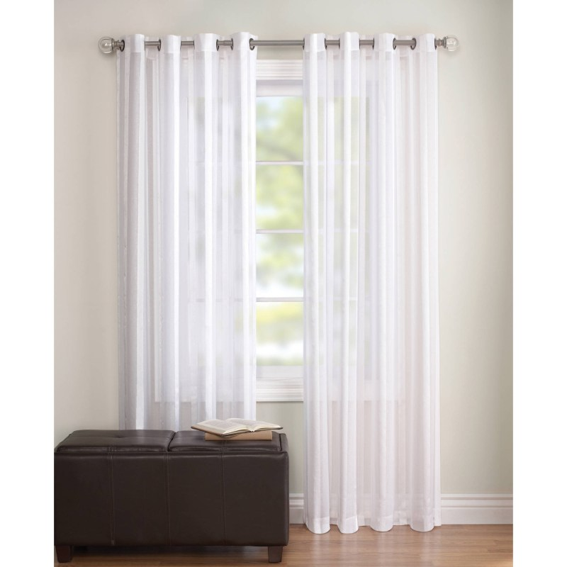 Large Of White Sheer Curtains