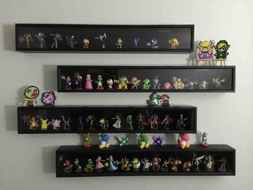 Medium Of Display Shelves Ideas