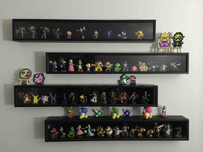 Large Of Display Shelves Ideas