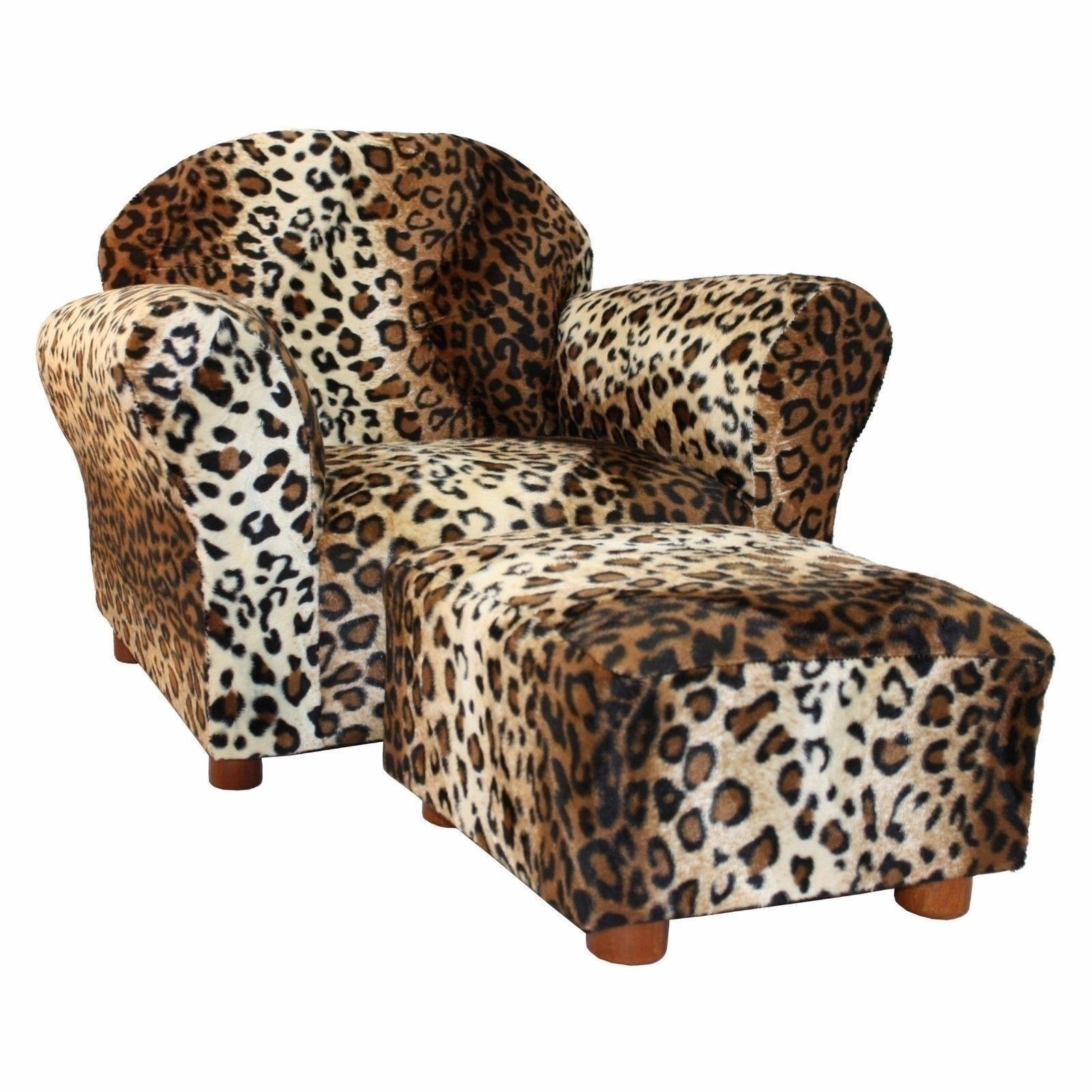 Fullsize Of Plush Chair And Ottoman