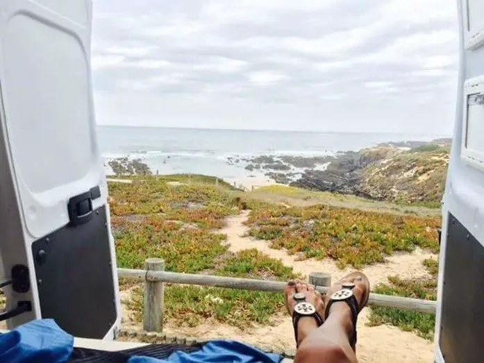 comment visiter le portugal en camping car van am nag. Black Bedroom Furniture Sets. Home Design Ideas