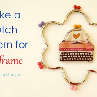 Featured: Draft your own metal purse frame pattern