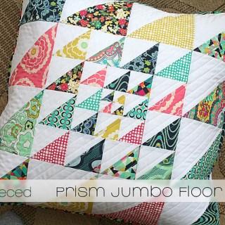 Featured: Prism Jumbo Floor Pillow Tutorial
