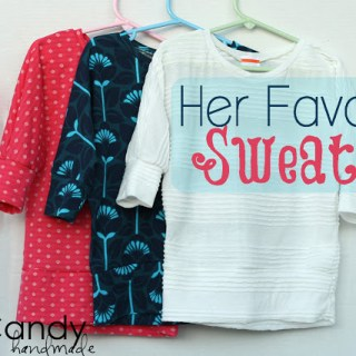 Featured: Her Favorite Sweater Tutorial & Pattern
