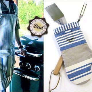 Featured: Man Apron & Matching Mitt