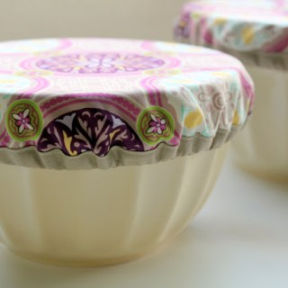 Featured: Fabric Bowl Covers