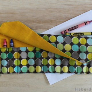 Featured: Travel Crayon Roll Tutorial