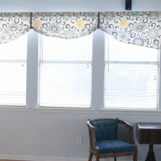 Featured: Simple Valance Tutorial