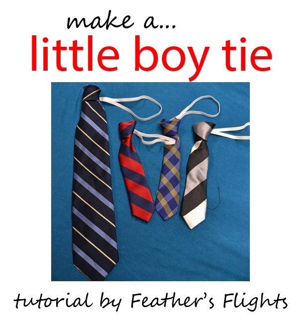 little boy tie