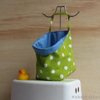 Featured: Bath Toy Bag Tutorial