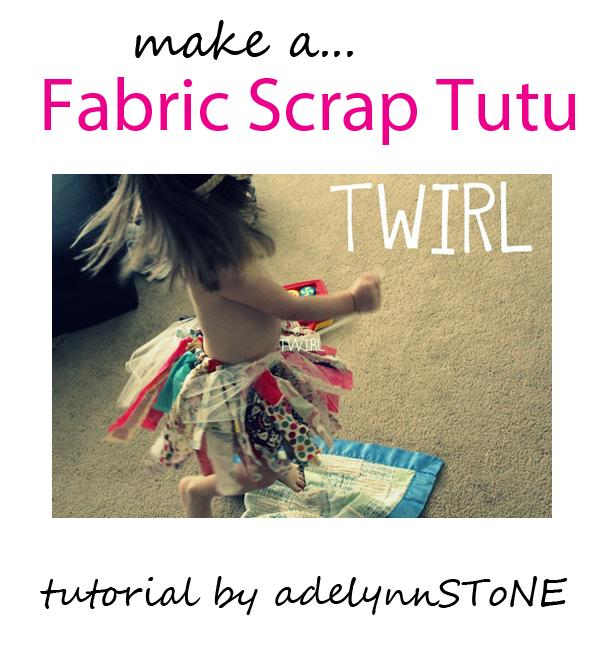 fabric scrap tutu