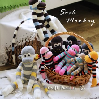 Featured: Sock Monkey Tutorial