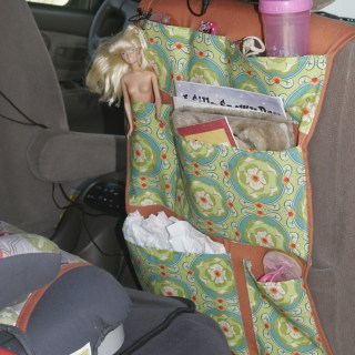 Featured: DIY Back Seat Organizer