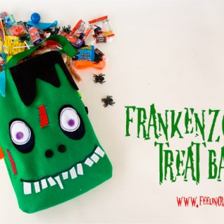 Frankenzombie Treat Bag Tutorial