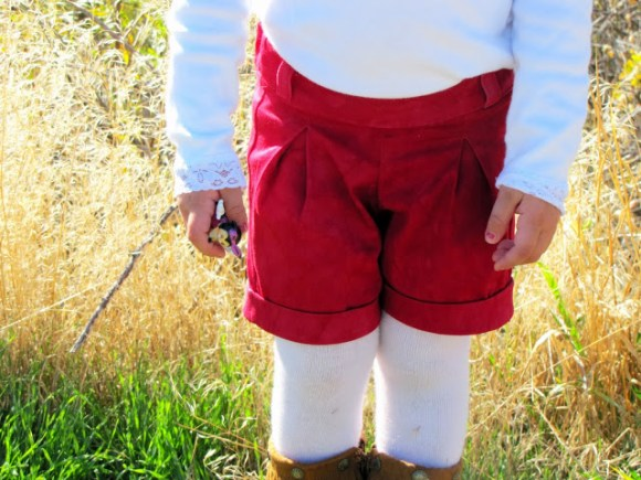 holly trouser shorts by Mama Says Sew